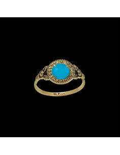 Bague Empire Turquoise
